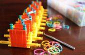 Cómo construir un telar de arco iris con K'NEX