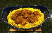 La abuela de espaguetis y albóndigas
