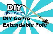 Pértiga extensible GoPro DIY