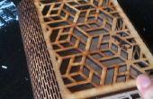 Caja de corte de Laser geométrica DIY