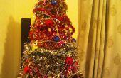 Árbol de Navidad redneck - en menos de una hora