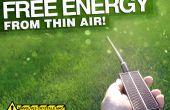 Energía libre de la nada!