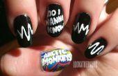 Arctic Monkeys AM Nail Art