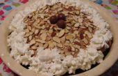 Paseo marítimo leche malteada-malvavisco crema pastel