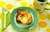 Cómo: Huevos fritos sobre una tostada frita