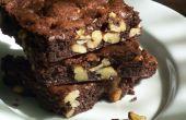 Stecklein-cómo hacer Brownies de nuez