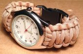 Cómo hacer un reloj de Paracord con hebilla