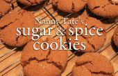 Azúcar y especias galletas niñera Tate
