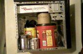 Computadora caja estante