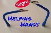 Sugru magnético ayudando a manos