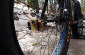Analizador de Intel Edison grasa bicicleta neumático