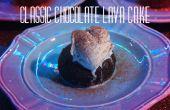 La torta de Lava de Chocolate clásico