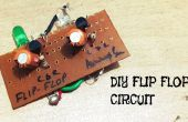 Circuito de flip-flop DIY Multi vibrador
