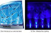 Reutilizar los LEDs para la iluminación de la caja de sombra