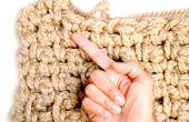 Cómo dedos ganchillo