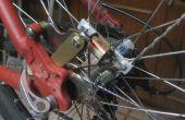 Luces de ruedas de moto Dinamo sin contacto