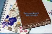 Cuaderno de dibujo de cartón fácil