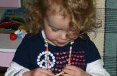 ABC de collar y pulsera para niños
