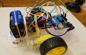 Arduino Bluetooth coche controlado por Labview