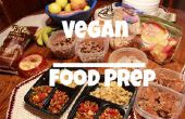 Preparación de alimento vegano