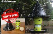 Hacer un sombrero de Brujas Halloween de comedero