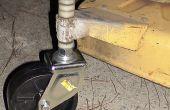 Construir una rueda cortadora de pasto
