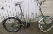 Cómo actualizar una bicicleta plegable