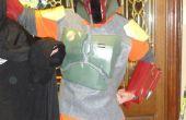 Construir la armadura de Boba Fett tamaño infantil con el método de Pepakura