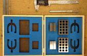 Inserciones de espuma del corte del laser para cajas de herramientas