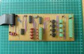 La construcción del circuito práctico con tira Junta