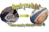 Reparar una bola dañada y actualícelo a una pelota de práctica para entrenamiento resistencia y fuerza