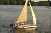 Cómo construir un barco de vela que es mucho más barato que por menor más.