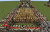 Granja de Minecraft auto cosecha trigo