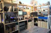 Estación de trabajo de IKEA IVAR