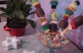 Pinchos de cupcake :)
