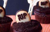 Esqueleto de cementerio de Cupcakes