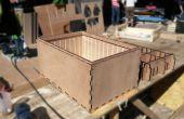 Básico Modular múltiples marcos para bicicletas de carga - corte del laser hermético apilable cajas