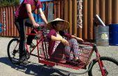 Construir una bicicleta de carga carro comercial