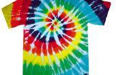 Cómo teñir una camiseta de lazo