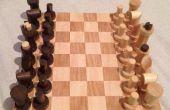 Juego de ajedrez de chatarra DIY