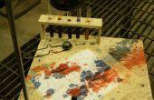 Cómo crear una pintura héroe locomotora