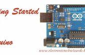 Para empezar con un Arduino (guía paso a paso sobre cómo instalar el software de Arduino IDE)