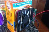 Construir una gato basura caja del ventilador con Arduino