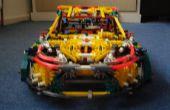 K'nex rally car (fiesta de la energía de rockstar) ¡ instrucciones!