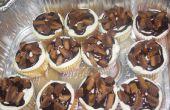 Cupcakes de mantequilla de maní Reeses
