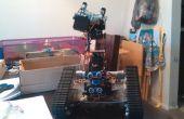 Tanque autónomo con brazo robótico (Arduino, Bluetooth)