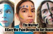 Ideas de pintura de guerra