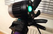 De liberación rápida Mod para luz de bicicleta CREE T6 + botella de batería impermeable (barato/libre)
