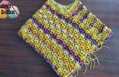 Winsome Poncho – patrón Crochet gratis y tutoriales en vídeo