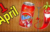Fanta con sabor a pimienta para el 1 de abril / broma